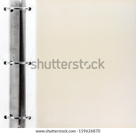 old notebook paper - stock photo