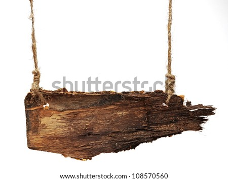 Old notice board - stock photo