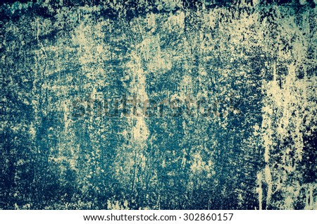 old obsolete painted wall background