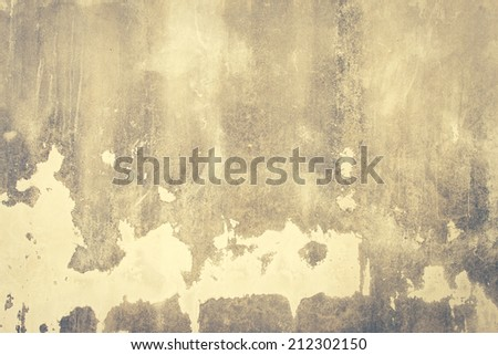 Old Or Grungy Wall Texture Background