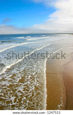 Old Orchard Beach, Maine - stock photo