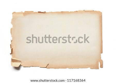 old page paper. - stock photo