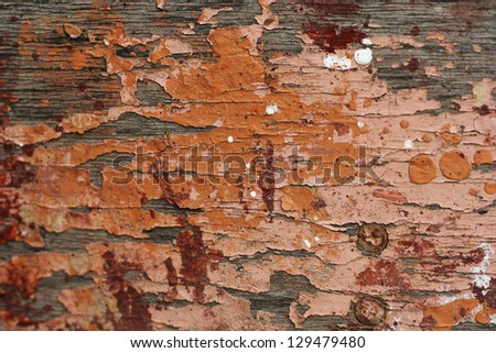 old painted board texture