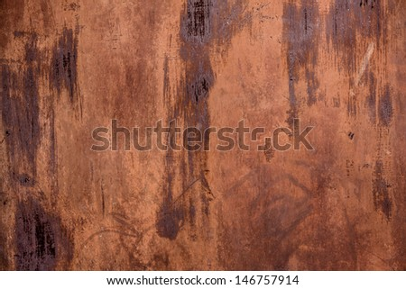 old painted metal with grunge texture - stock photo