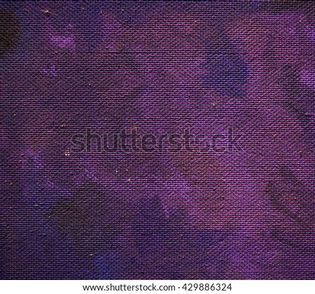 old painted violet blue cardboard background and texture - stock photo