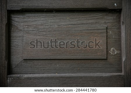 Old painted wood  - stock photo