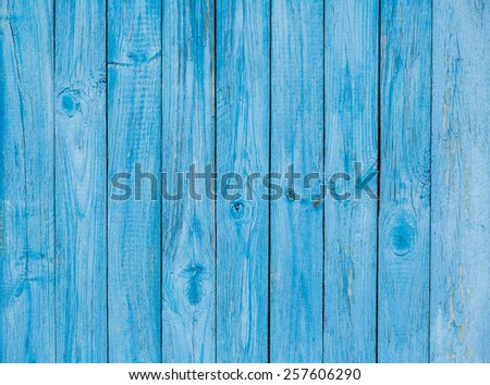 Old painted wood wall - stock photo
