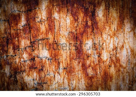 Old painted wood wall