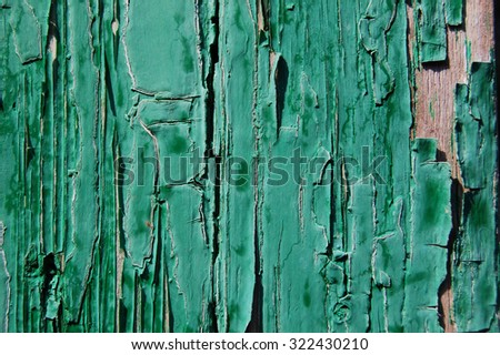old painted wood wall texture, grunge background, cracked paint