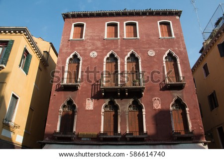 Venetian Gothic venetian gothic style stock images, royalty-free images & vectors