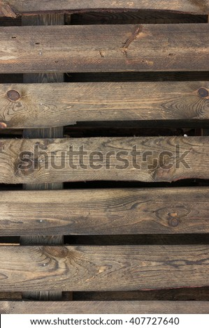 Old pallet texture - stock photo