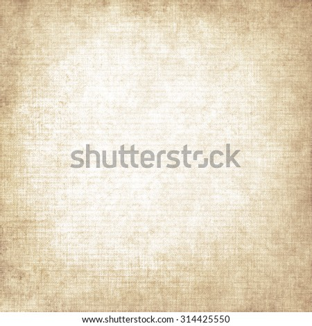 old paper background canvas texture knit pattern, scrap book paper texture background with vignette and copy space - stock photo