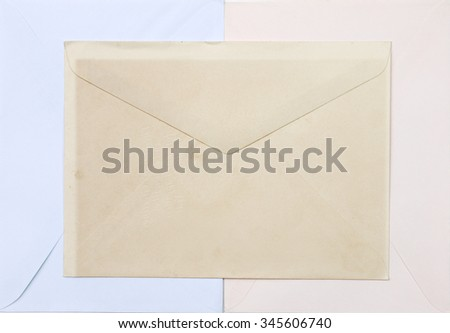 Old paper envelope texture