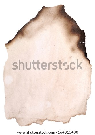 old paper great as a background - stock photo