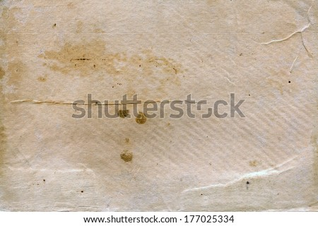 old paper, Original background - stock photo
