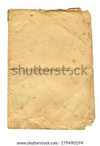 old paper, Original background or texture
