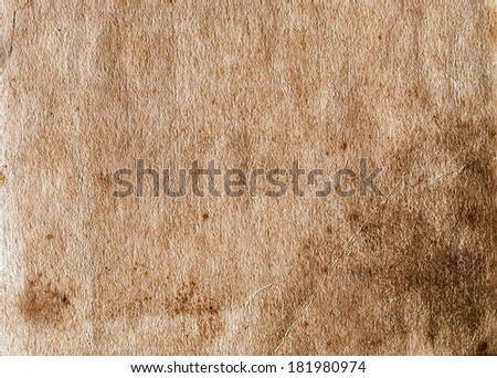 old paper, Original background or texture  - stock photo