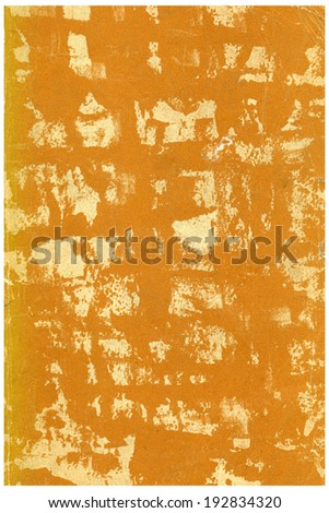 old paper page with space for text - stock photo