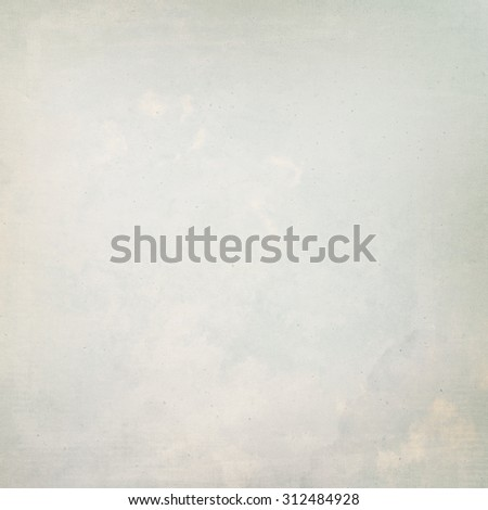 old paper parchment texture background, bright painted plaster wall grunge background - stock photo