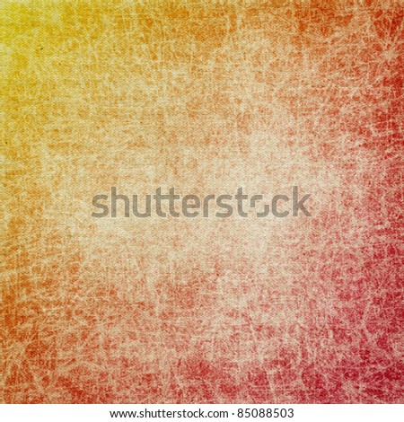 old paper red background - stock photo