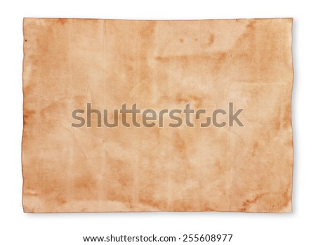 old paper sheet background