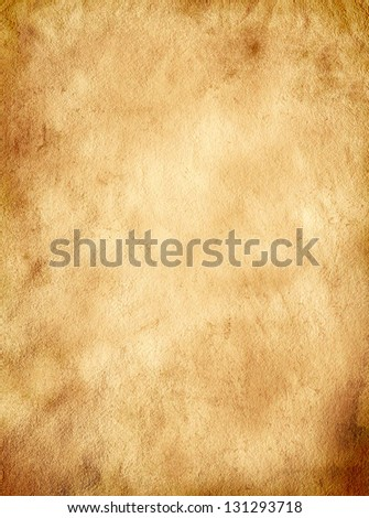 Old paper sheet, Vintage aged old paper. Original background or texture - stock photo