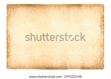 old paper 2 * 3 size (Ratio) - stock photo