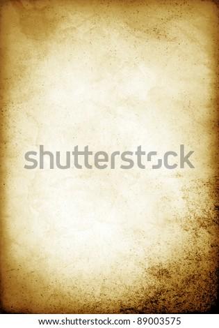 Old Paper Template Stock Illustration 89003575 - Shutterstock