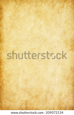 Old  paper texture. Grungy Background. - stock photo