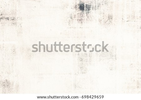 Old Paper Texture Newspaper Background Grungy Stock Photo Royalty