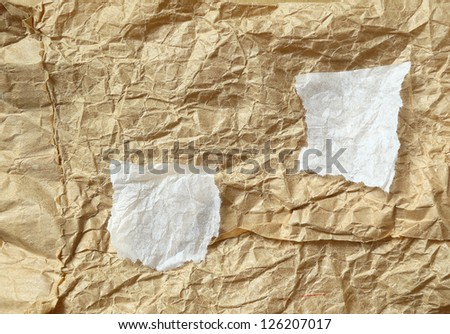 Old paper texture. Old paper textures - background with space for text