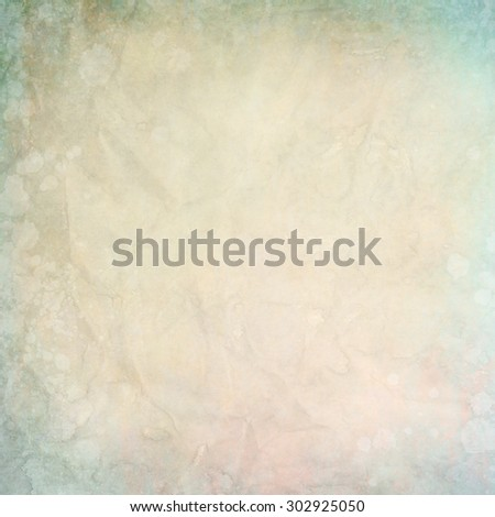 old paper texture or background with water stains