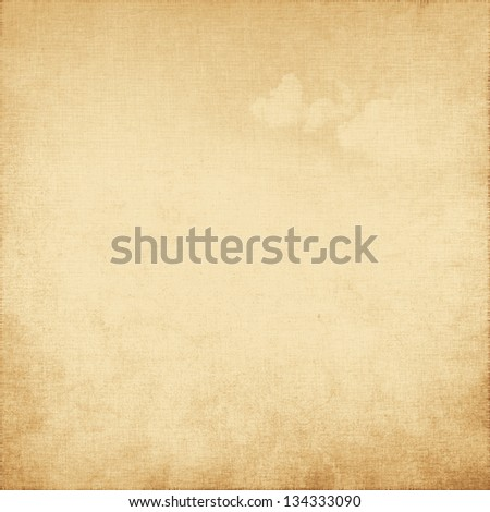 old paper texture or canvas texture grunge background - stock photo
