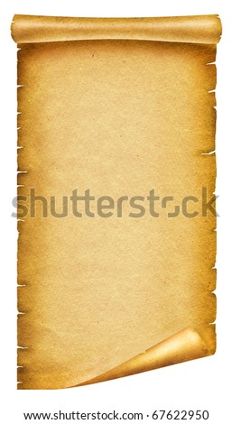 old paper texturescroll background design on stock illustration, Powerpoint templates