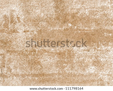 Old paper with grungy white paint stains background - stock photo