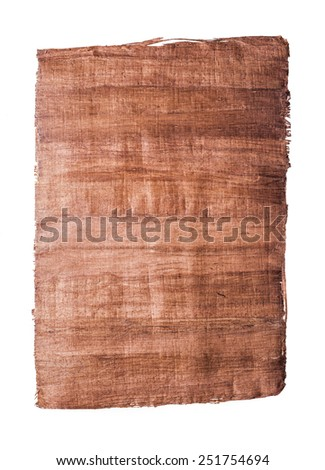 old papyrus paper - stock photo