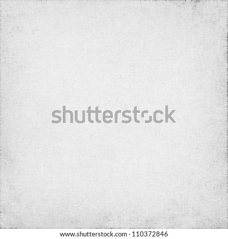 Old Parchment Paper Background White Linen Texture