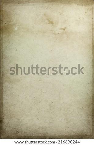 Old parchment paper texture - stock photo