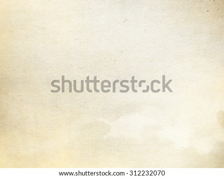 old parchment paper texture background, beige paper background - stock photo