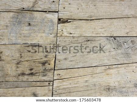 Old parquet texture - stock photo