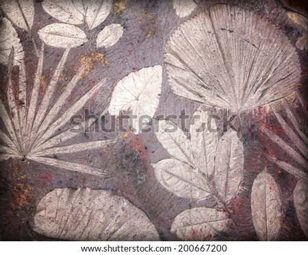 Old pavement background pattern. Slip walkways concrete - stock photo