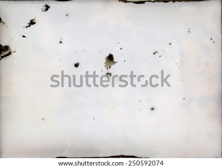 Old photographic paper - layer - mask for photo editor - stock photo