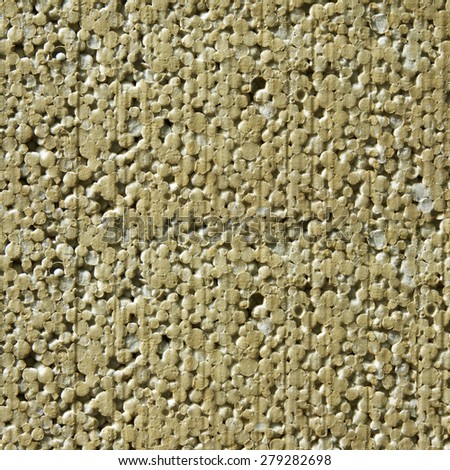 Old Polyfoam Texture - stock photo