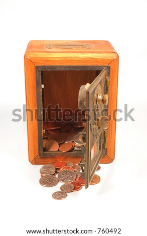 Old Postal Coin Bank
