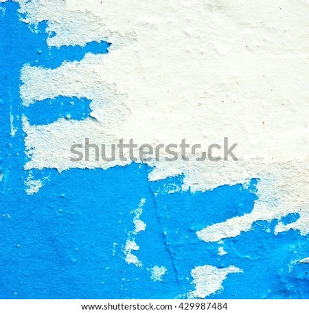 Old posters / Torn posters / Grunge textures and backgrounds and ripped paper  - stock photo