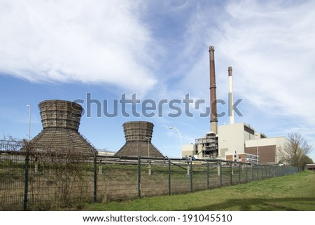 Old power station in Datteln, NRW, Germany, 2014