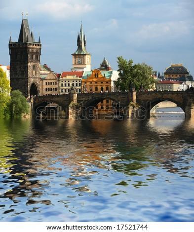 Old Prague - stock photo