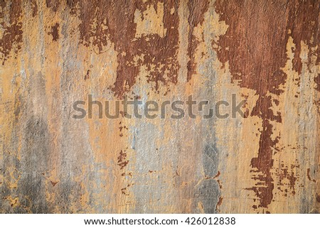 old ragged plaster - stock photo