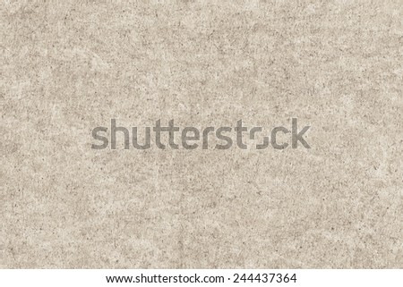 Old Recycle Paper Bleached Mottled Coarse Grunge Texture - stock photo