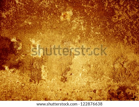 old red wall background or texture